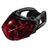 Hama Unisex Fahrrad-rücklicht Profi mit 3 Leds Led-licht, Schwarz, Einheitsgröße