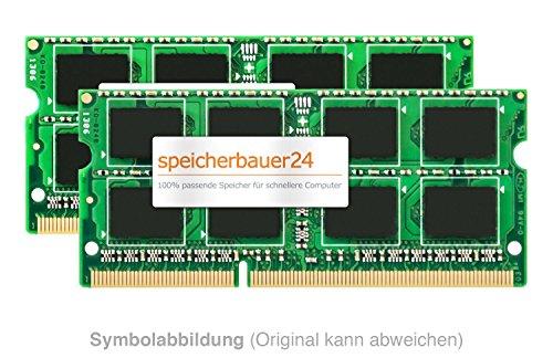 16GB Arbeitsspeicher (2X 8GB RAM Kit) - 204pin SO-DIMM DDR3 1600MHz - passend für Fujitsu (-Siemens) Celsius H730 (Quad-Core) - RAM-Upgrade