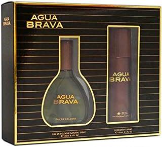 Agua Brava Agua de tocador para hombres- 1 set