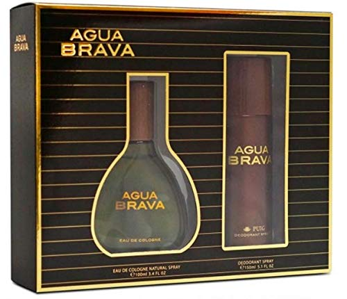 Agua Brava, Agua de tocador para hombres- 1 set
