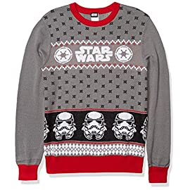 Star Wars Men's Ugly Christmas Sweater 5 Officially licensed The force is strong with this one