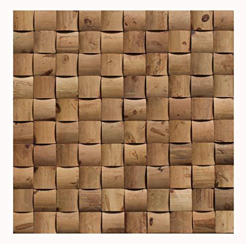 Bambus - Wand-Design - BM-011 - Mosaikfliesen Wand-Verkleidung Holzwand Wall-Design Bamboo-Mosaic Bamboo-Design - Fliesen Lager Verkauf Stein-mosaik Herne NRW