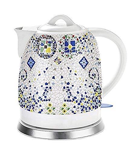 Bouilloires en céramique Bouilloire électrique sans Fil Eau Teapot, Teapot-rétro 1.8L Jug, 1000W Rapide Eau for Le thé Rapide (Couleur: A) 8bayfa (Color : A)