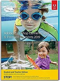 Adobe Photoshop & Premiere Elements 2019 Student and Teacher