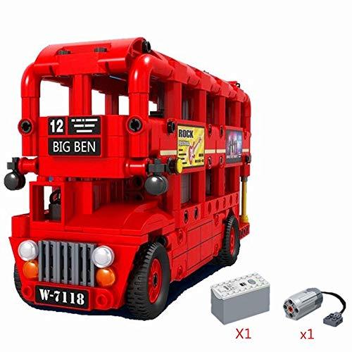 Modbrix Técnica motorizada autobús de doble piso Londres, 487 piezas técnicas