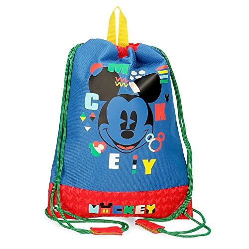 Disney Mickey Shape Shifter mochila Saco Multicolor 27x34 cms Poliéster
