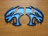 Dodge Charger Challenger SRT Hellcat Front Left & Right Fender Badges
