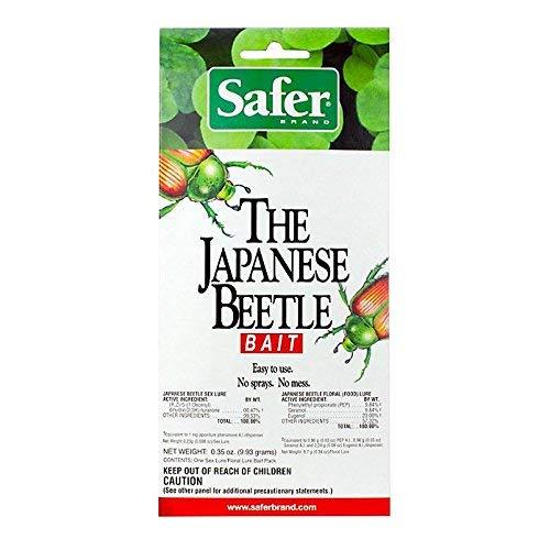 Price comparison product image Safer 70006 Japanese Beetle Trap Attractant Bait / Lure - Quantity 8