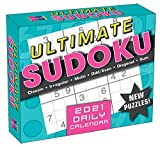 2021 Ultimate Sudoku Boxed Daily Calendar