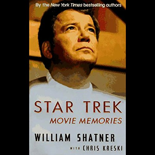 Star Trek Movie Memories audiobook cover art
