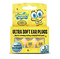 Spongebob Squarepants Ultra Soft Ear Plugs by CIRRUS HEALTHCARE PRODUCTS LLC