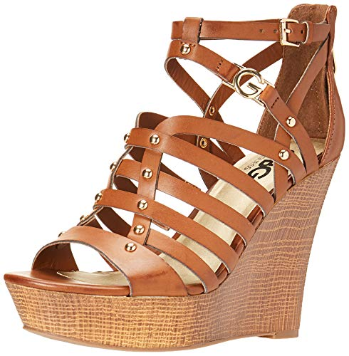G by Guess Dezzie Burnished Calf Rio Maple 8.5