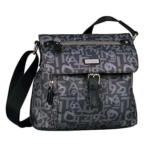 TOM TAILOR Rina Tt Flap bag M no zip M no zip M, (Grigio stampato), Medium