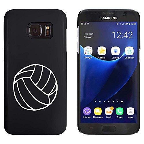 Azeeda Schwarz 'Volleyball' Hülle für Samsung-Galaxie S7 (MC00021347)