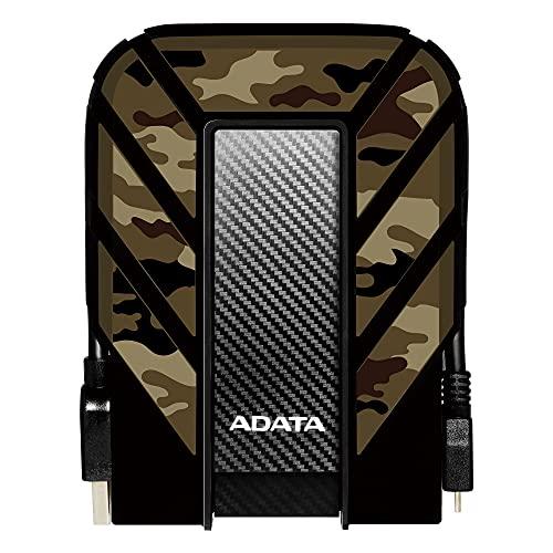 ADATA HD710M Pro - 1 TB, externe Festplatte mit USB 3.2 Gen.1, IP68-Schutzklasse, camouflage, 1TB