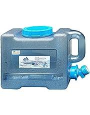 Xianghaoshun Wateropslag kubus kan, BPA-vrije watercontainer met kraan, voedselkwaliteit camping wateropslagdrager kan voor buitenshuis wandelen orkaan noodgevallen, 6L/8L/13L/18L