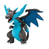 D-Khaleesi Mega Charizard Figure Animal Toys Plush Doll 12 inches Collectable Xmas Gift