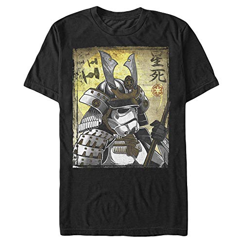 Star Wars Samurai Stormtrooper Mens Graphic T Shirt,Black,X-Large