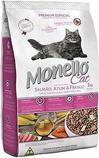 MONELLO CAT DRY FOOD SALMON TUNA ND CHICKEN FLAVOR 15KG