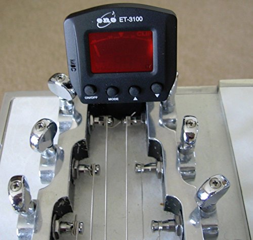 Pedal or Lap Steel Guitar Clip On Tuner