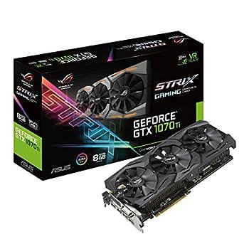 ASUS ROG Strix GeForce GTX 1070 Ti 8GB GDDR5 VR Ready DP HDMI DVI Gaming Graphics Card  ROG-STRIX-GTX1070TI-8G-GAMING