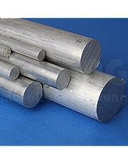 Barra redonda de aluminio (a corte)