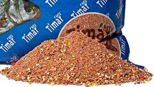 Timar Mix Futter Plus Serie 1kg Karpfen Erdbeere Futter Grundfutter Angelfutter Karpfenfutter Anfutter