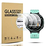 Diruite 4-Pack for Garmin Forerunner 220/225 / 230/235 / 620/630 Tempered Glass Screen Protector [2.5D 9H hardness] [Anti-Scratch] [Bubble-Free]