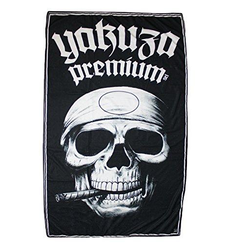 Yakuza Premium Liegetuch Promo Skull Black