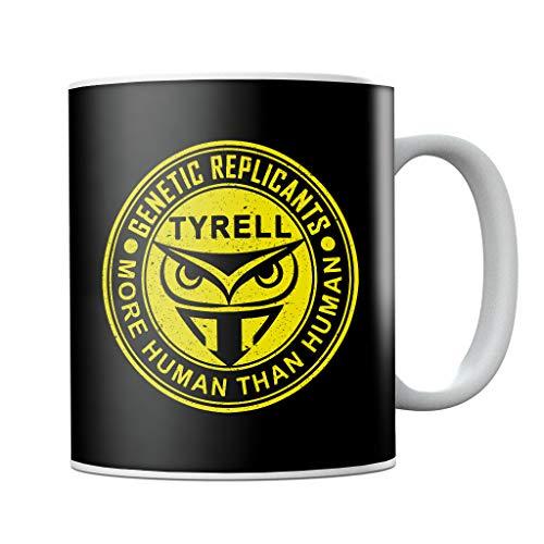 Cloud City 7 Blade Runner Tyrell Replicants Logo Mug