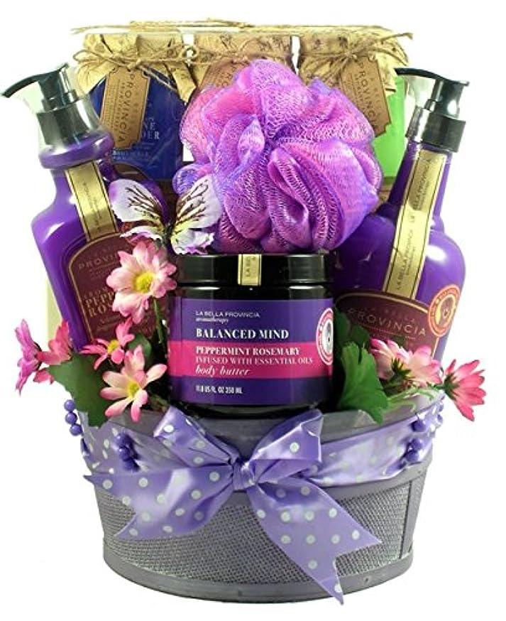 古くなったメッセージもつれGift Basket Drop Shipping ArTh Aroma Therapy Spa Collection Gift Basket
