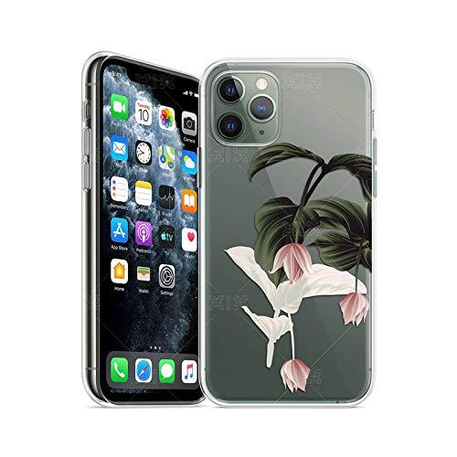 Ti'an Art - Funda de silicona para iPhone 11 12 Pro Max SE 2020 7 8 Plus X XS Max XR Funda de silicona para iPhone 12