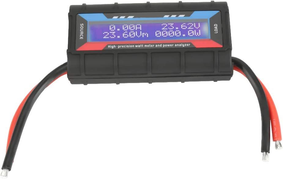 Fixed price for sale Voltage Ammeter Power Wattmeter Analyzer Hig 150A New popularity 4.8V~60V