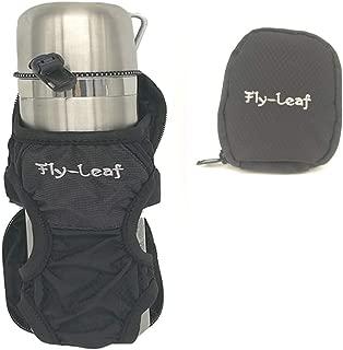 BSMONLAN ボトルホルダー ペットボトルホルダー ボトルカバー 水筒ホルダー ボトルケース ペットボトル カバー 水筒カバー 折りたたみ傘も収納 登山 アウトドア 男女兼用 (ブラック2(一個))