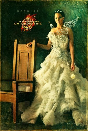 The Hunger Games Catching Fire (2013) 12X18 Movies Poster (THICK) - Jennifer Lawrence, Josh Hutcherson, Liam Hemsworth by World Mall Group