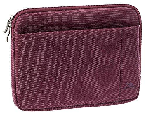 Riva Schutz Tasche Hülle Sleeve Hülle Cover mit Außenfach in Lila für Trekstor SurfTab Xiron 10.1 3G
