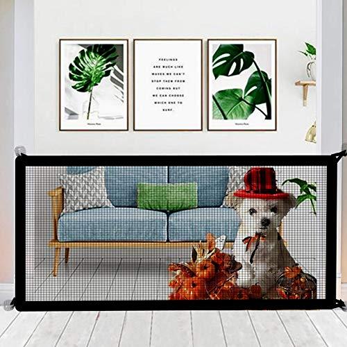 Nifogo Magic Gate, Hund Safe Guard, Schutzgitter Haustiere, Portable Folding Safe, Faltbar Pet Guard (D- 180 x 72CM)