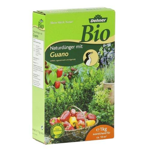 Dehner Bio Universal-Naturdünger mit Guano, 1 kg, für ca. 10 qm