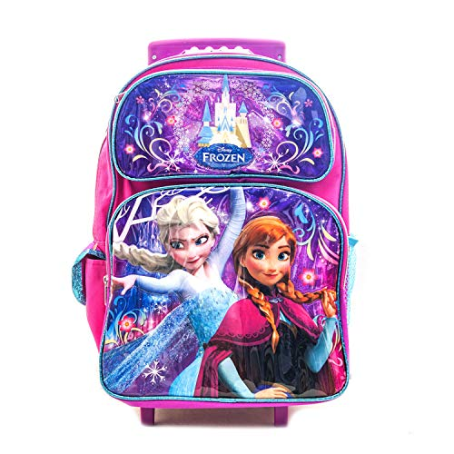 Frozen Backpack Anna & Elsa 16 Inch Rolling