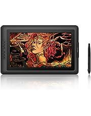 XP-PEN Artist 15.6 Grafische tablet, 1080 x 1920 IPS pen-display, batterijvrije pen met 8192 drukniveaus, tekentablet met 8 express-toetsen voor thuiskantoor en videoconfenrentie