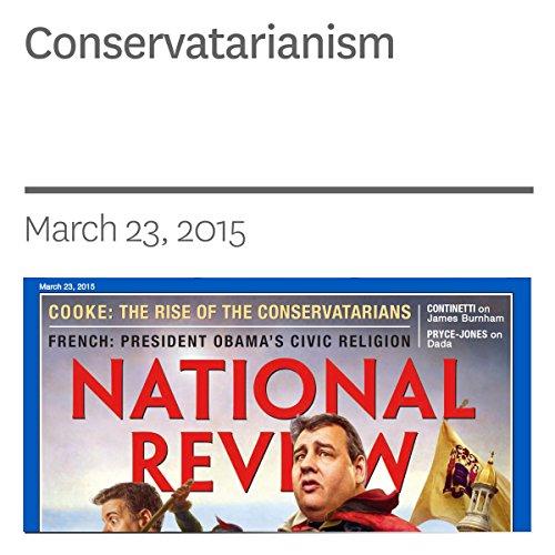 Conservatarianism audiobook cover art