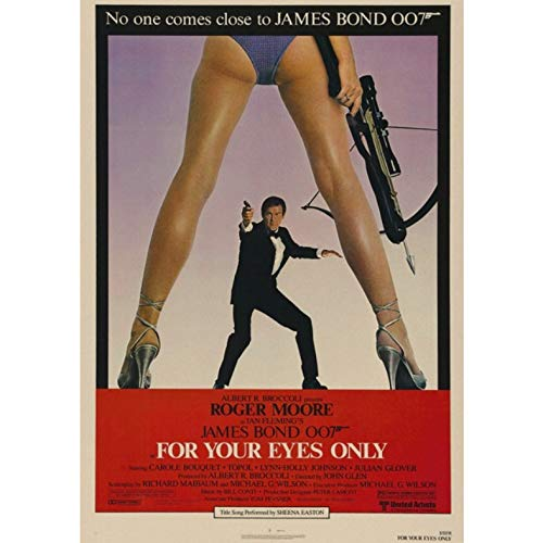 manyaxiaopu James Bond 007 Series Pierce Brosnan Film Classici Arredamento per La Casa Decorazione Carta Kraft Poster Pittura Decorativa A14 40X50Cm