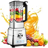 Blender Smoothie Maker, COOCHEER 1800W Blender for Shakes and Smoothies with High-Speed Professional...