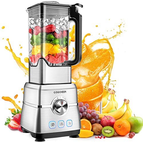 Blender Smoothie Maker, Coocheer 1800w Blender For Shakes And Smoothies With High-Speed
