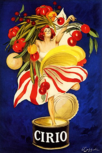 "Cirio - Vintage Italian Food Advertisement Poster Reproduction (24"" x 36"")"