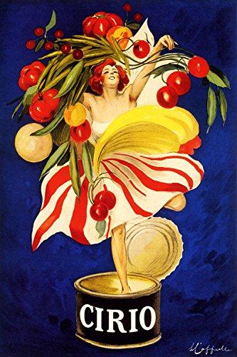 "Cirio - Vintage Italian Food Advertisement Poster Reproduction (24"" x 36"")"