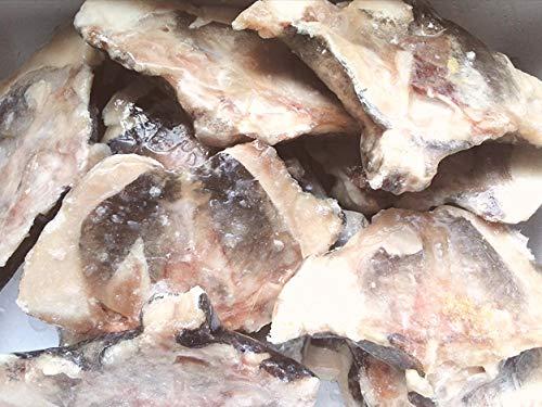 産直丸魚 脂の乗った銀ダラのカマ たっぷり1kg入 (無塩) 煮つけ・塩焼きなどでどうぞ    ぎんだら ギンダラ ぎんだらのかま 魚カマ 魚かま カマ プライム