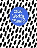 2020 Weekly Planner: An Organizer for Busy Women in Blue and White