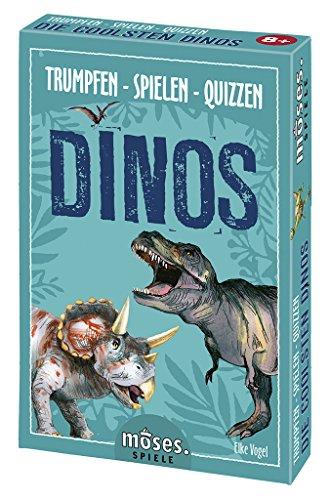 Moses Kaartspel voor kinderen vanaf 8 jaar, dinosaurussen