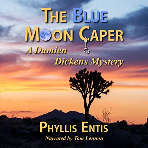 The Blue Moon Caper audiobook cover art